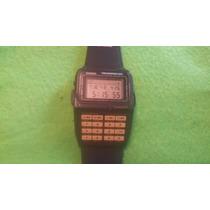 Reloj De Pulsera Vintage Casio Data Bank Telememo 50