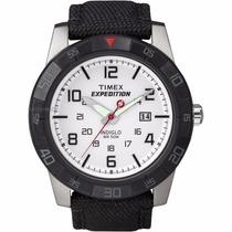 Reloj Timex Caballero Expedition Analogo Negro/rojo T49863