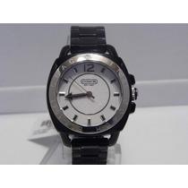 Reloj Marca Coach 100% Genuino Color Blanco/negro