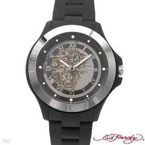 Reloj Ed Hardy Christian Audiger, Acero Y Poliuretano 4 Sp0