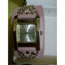 Reloj Guess G75773l Cristales Swarovski Original Cn Garantia