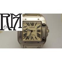 Reloj Cartier Santos 100 Rolex Hublot Audemars Piguet