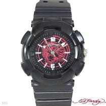 Reloj Ed Hardy Christian Audiger, Hombre, Acero Poliure1sp0