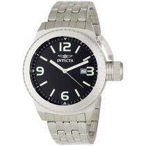 Reloj Marca Invicta 0987 Corduba Black Stainless Steel Vbf