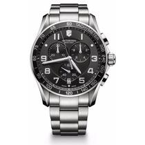 Reloj Victorinox Chrono Classic Análogo A. Inoxidable 241650