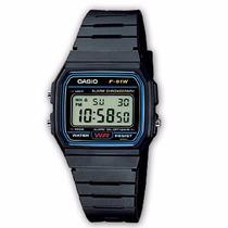 Reloj Casio Clasico Vintage Retro Mod F 91w Original 100%