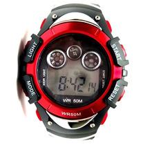 Reloj Deportivo Todo Terreno Natación Atletismo Luz Led