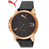 Reloj Puma Gold Medium Elegante En Caja -astroboyshop-