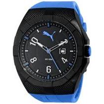 Reloj Puma Pu103501004 Negro+azul Original **envio Gratis**