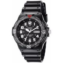 Reloj Casio Hombre Mrw200h-1bct Negro Water Resistant