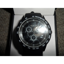 Reloj Marca Unlisted Kenneth Cole Negro Estilo Aviador Vbf