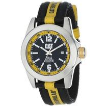Reloj Cat Negro Con Amarillo