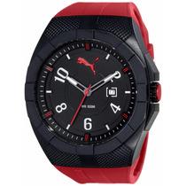 Reloj Puma Pu103501001 Iconic, Rojo, Deportivo, Tiempoydatos