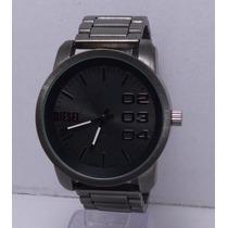 Reloj Hombre Diesel Excelente Negro Pavonado Regalo