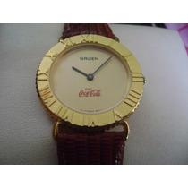 Bonito Reloj Gruen De Coca Cola. Germany. 100% Original.