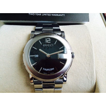 Gucci Day & Date Quartz Swiss Zafiro. Completo, Wow