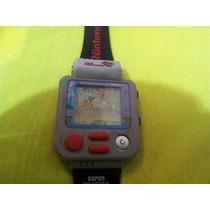 Reloj De Pulsera Vintage Nintendo Super Mario Bros
