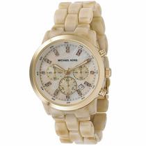 Reloj Michael Kors Horn Show Stopper Mk5217 Envío Gratis