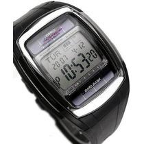 Reloj Casio Databank Db-e30 Caucho Solar Telememo Wr50m Vbf