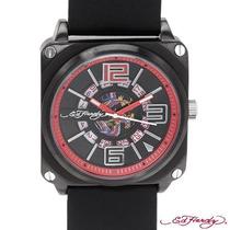 Reloj Ed Hardy Christian Audiger, Acero, Piel 4 Sp0
