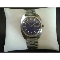 Reloj Citizen Automático Vintage Años 70´s. Dial Azul.