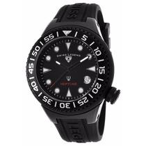 Reloj Swiss Legend Neptune Analogo Caucho 11044d-bb-01-nb