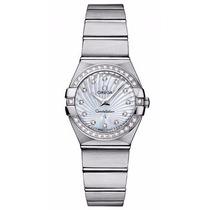 Reloj Omega Constellation Mujer Blanco 12315246055002