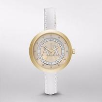 Reloj Armani Exchange Ax4227 Piedra Swarovski Madre Perla
