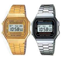 Reloj Casio Vintage Retro Original Dorado Plata Unisex