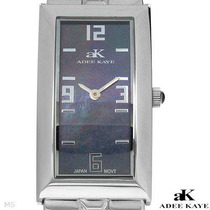 Reloj Adee Kaye / Madre Perla Acero Inox / Dama Envio $0 Sp0