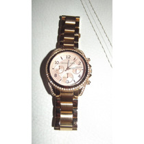 Reloj Michael Kors Dama Original Seminuevo Color De Moda