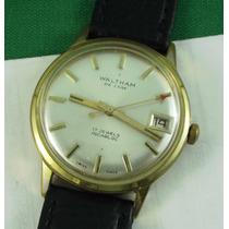Reloj Waltham De Luxe, Shockresistant, Mecánico De Cuerda