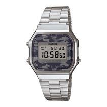Reloj Casio Retro A168 Edicion Camuflage Cronometro Luz