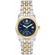 Reloj Citizen Eco-drive Acero Azul Dorado Mujer Ew2294-53l