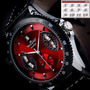 Reloj Automatico Fechador Y Cronometro Doble Maquinaria.