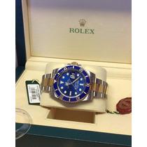 Elegante Rolex Submariner Nuevo En Caja Y Con Papeles