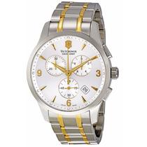 Reloj Victorinox Alliance Dorado Plateado 241481