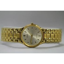 Fino Reloj Citizen Chapa De Oro Sin Extensible Urge