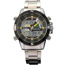 Reloj Shark- Sh048 Plateado