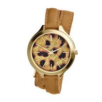 Reloj Michael Kors Piel Leopardo Nuevo Y Original