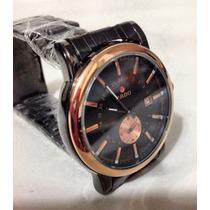 Reloj Acero Color Negro.