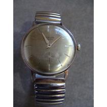 Reloj Steelco, De Cuerda, Para Caballero,3.4cm De Diametro