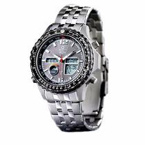Reloj Atomico Solar Multifunciones Exelente Diseño Ecodrive