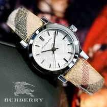 Wow!! On Sale!!! Hermoso Reloj Burberry 100% Original
