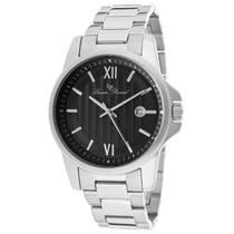 Reloj Lucien Piccard Breithorn Acero Negro 10048-11