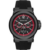 Reloj Michel Kors Caballero Mk 8453 Negro Envío Gratis
