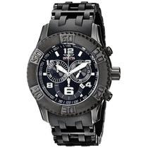 Reloj Invicta Sea Spider Cronógrafo Negro 6713 Garantia