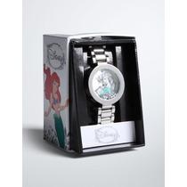 Ariel La Sirenita Exclusivo Reloj Para Dama Disney Original