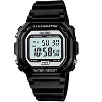Reloj Casio Retro F108 Cronometro Alarma Calendario Luz Led