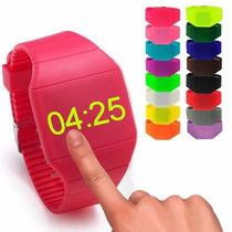 Reloj Led Touch Ultra Delgado,unisex, Moda, Varios Colores